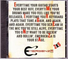 V. A. - Emergenza 2K5 Everytime Yellow -CD- NEU/ OVP Germany 2005