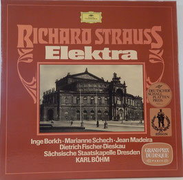 Richard Strauss - Elektra -2LP-Box- Borkh Schech Karl Böhm