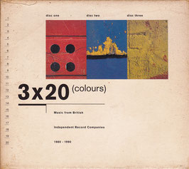 V. A. - 3x20 (Colours) Music from British Independent Record Comp.1980-1990 -3CD-Box-