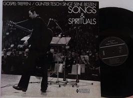 Günter Tesch - singt seine besten Songs & Spirituals -Vinyl-LP- GRH 110