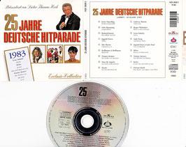 V. A. - 25 Jahre Deutsche Hitparade 1983 -CD- präsentiert von Dieter Thomas Heck