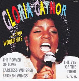 Gloria Gaynor - Gloria Gaynor Sings World Hits -CD-