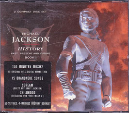 Michael Jackson - History Past, Present and Future BOOK 1 -DoppelCD-