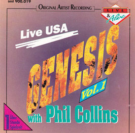 Genesis with Phil Collins - Live USA Vol. 1 -CD-