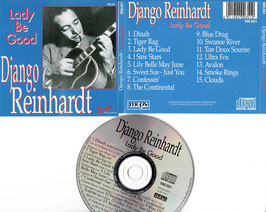 Django Reinhardt - Lady Be Good -CD-