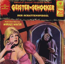 Geister-Schocker #20 - Der Schattenspiegel -CD-