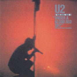"""U2 - Live """"Under A Blood Red Sky"""" -CD- France IMCD 248 / 818 008-2"""