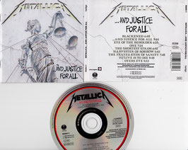 Metallica - ... And Justice For All -CD- 836062-2