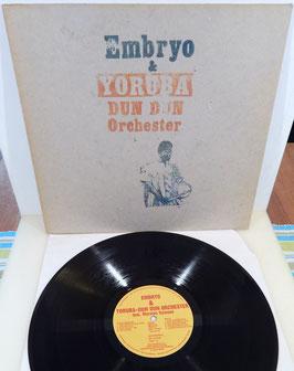 Embryo & Yoruba Dun Dun Orchester - Embryo & Yoruba Dun Dun Orchester -Vinyl-LP-
