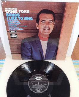 Tennessee Ernie Ford - Songs I Like To Sing -Vinyl-LP- UK Press
