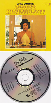 Arlo Guthrie - Alice´s Restaurant -CD- German Press
