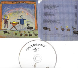 V. A. -Peace On Earth -CD- Universal-Promo Weihnachten 2002 not for sale