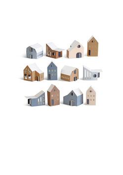 Papierhäuser, Tus von Jurianne Matter