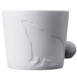Tasse, Mugtail Bär von Kinto