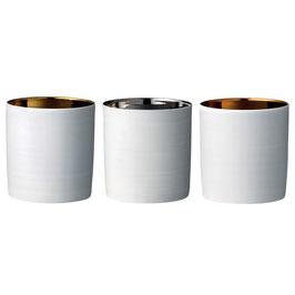 Teelichter, Porzellan von Bloomingville