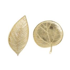 Blätterschale Gold von Bloomingville