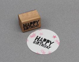 """Stempel """"Happy Birthday"""" von Perlenfischer"""