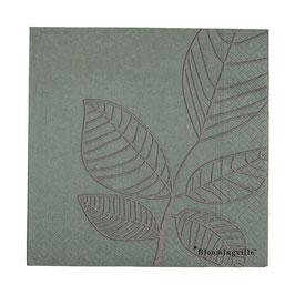 Papierservietten Blätter von Bloomingville