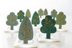 Mini Kartenset , Forest von Jurianne Matter