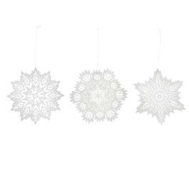 Ornament, Schneekristalle von Bungalow