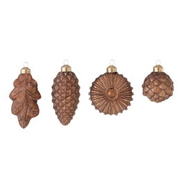 Anhänger, Pine Cone Walnut von Bungalow