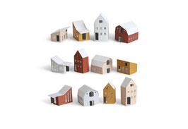 Papierhäuser, Bygge von Jurianne Matter