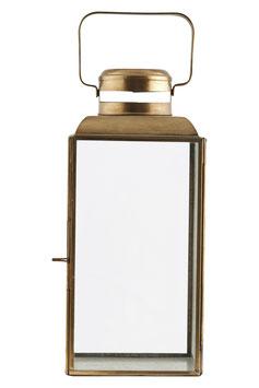 Laterne, Vintage Brass von House Doctor