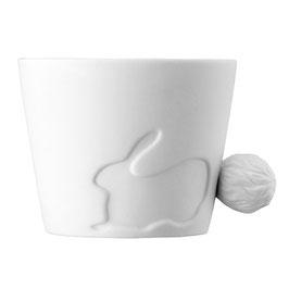 Tasse, Mugtail Hase von Kinto