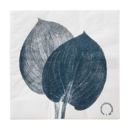 Papierservietten, Hosta blue von Pernille Folcarelli