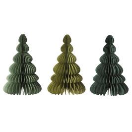 Wabenbaum Set Evergreen von Bungalow