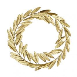 Blätterkranz, Gold von Bungalow