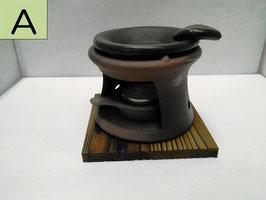 常滑焼(茶香炉)/Tokoname Yaki(Incense Burner)