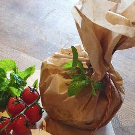 Grosse Gemüsepfanne mit Feta