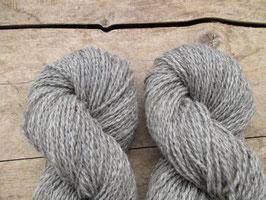 """Schafwolle aus Österreich """"Silbergrau"""""""
