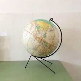 Globe terrestre Girard et Barrere