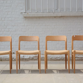 *VENDUES* Ensemble de 4 chaises Moller