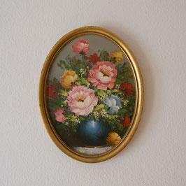 *VENDUE* Très jolie peinture d'un bouquet de roses