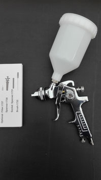 Verchroomde HVLP verfspuit 1,4mm  VS20