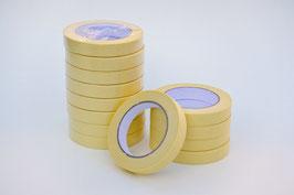 Maskeertape geel 19 mm (tot max. 80 graden celcius)