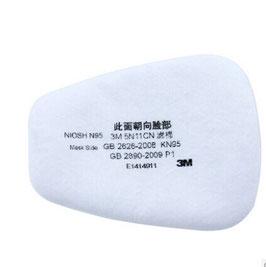 Papieren filter voor 3M 7502/7503 Spuitmasker