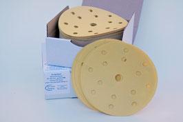 Budgetlabel schuurschijven Ø150mm Velcro (klittenband)
