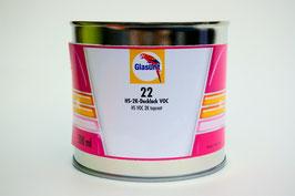 Topcoat 2K Zijdeglans - Op kleur gemaakt