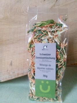 Schweizer Gemüsemischung 70 g