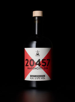 20457 Hafencity Gin Navy Strength 57% - 0,5 L