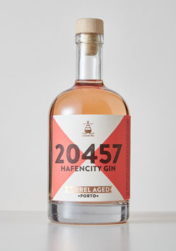 20457 Hafencity Gin Barrel Aged »Porto« - 0,5 L