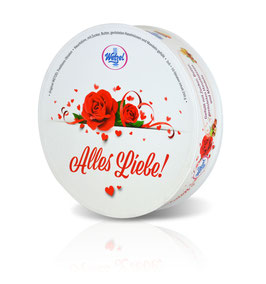 "Original WETZEL traditional Oblaten as a special edition ""Alles Liebe"""