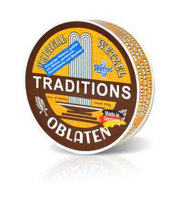 Original WETZEL Oblaten Tradition Tin
