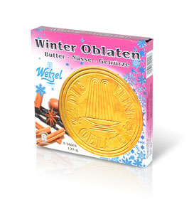 WETZEL Winter Oblates (Seasonal Article, only from September - January)