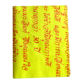 Passportholder gelb