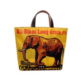 Trendbag Elefant gelb